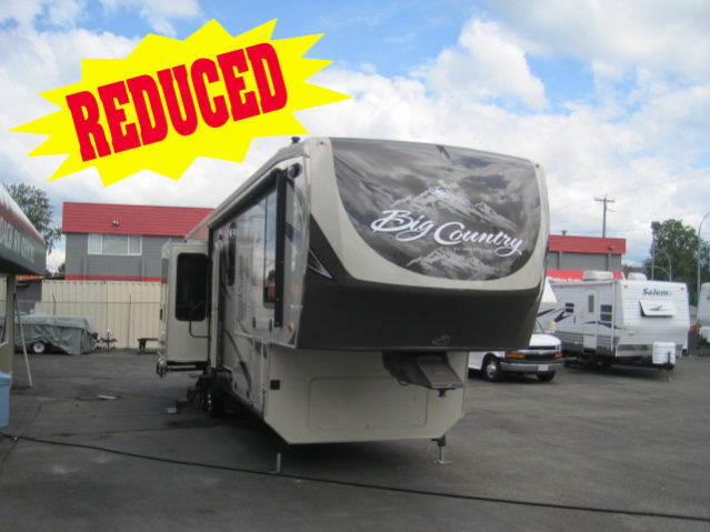 CBW36911 2013 Big Country 3691SK Fifth Wheel