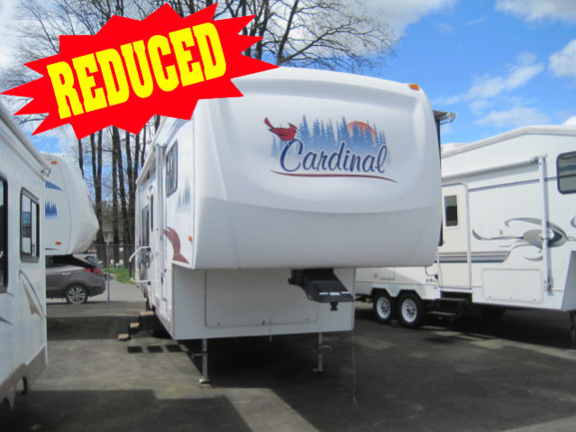 CCW314 2007 Cardinal 31LE Fifth Wheel
