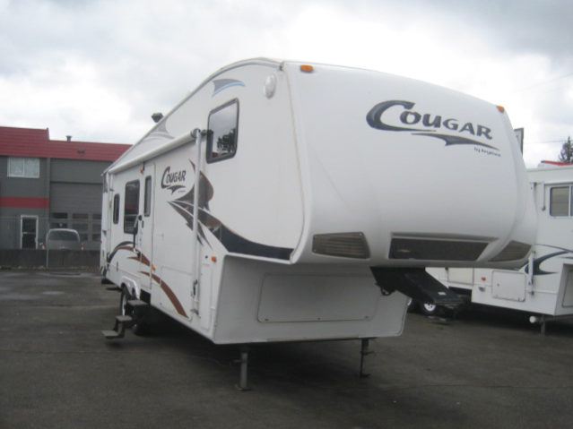 CCW2922 2007 Cougar 292RKS Fifth Wheel